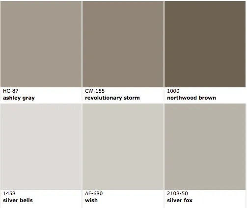 exterior brown colors