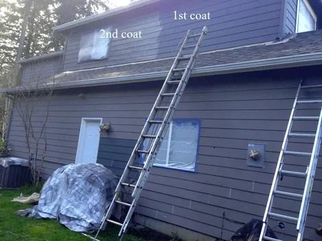 Painting hardie boards elegant painting house - Benjamin moore ultra spec exterior ...
