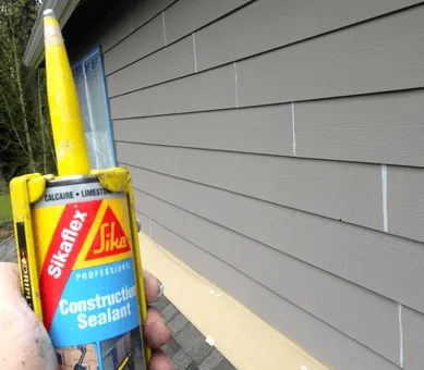caulking cement boards