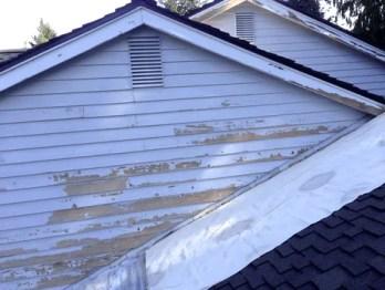 peeling paint cedar siding