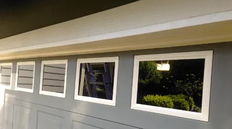 painting garage door windows bellevue