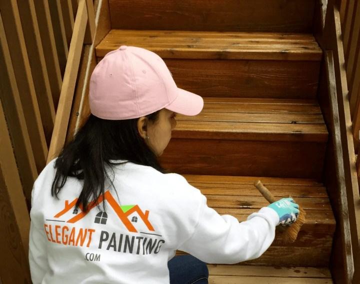 deck stain redmond