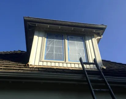 wood windows painting woodinville