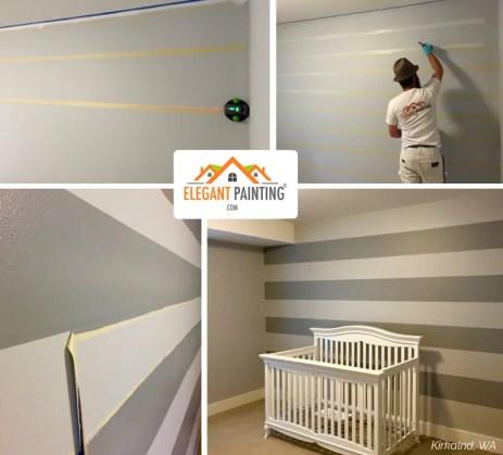 painters interior stripes