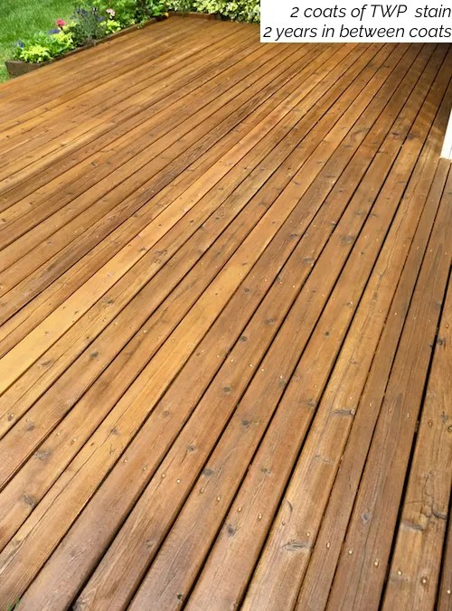 semi transparent deck stain