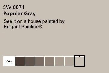 popular gray SW 6071