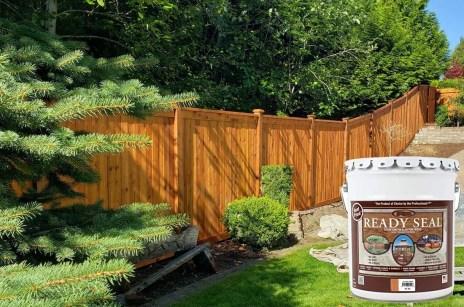 readyseal fence stain cedar
