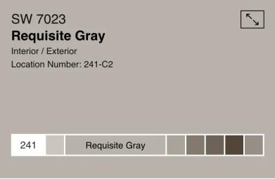 requisite gray. 7023
