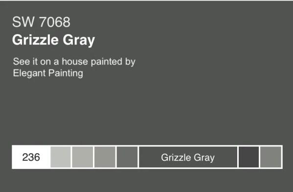 Grizzle gray