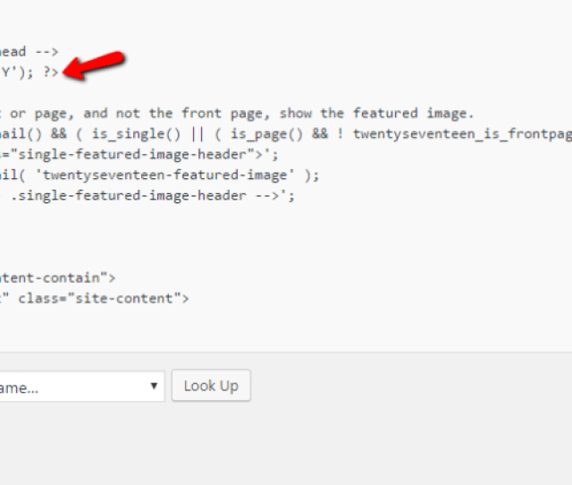 Then The Current Date Will Display Right Below Your Header On Your Front End