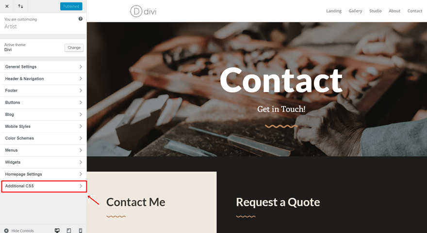 multi-step contact form