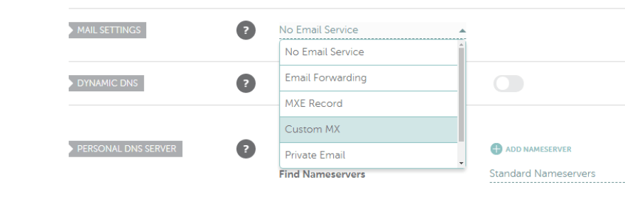 Changing your MX records.