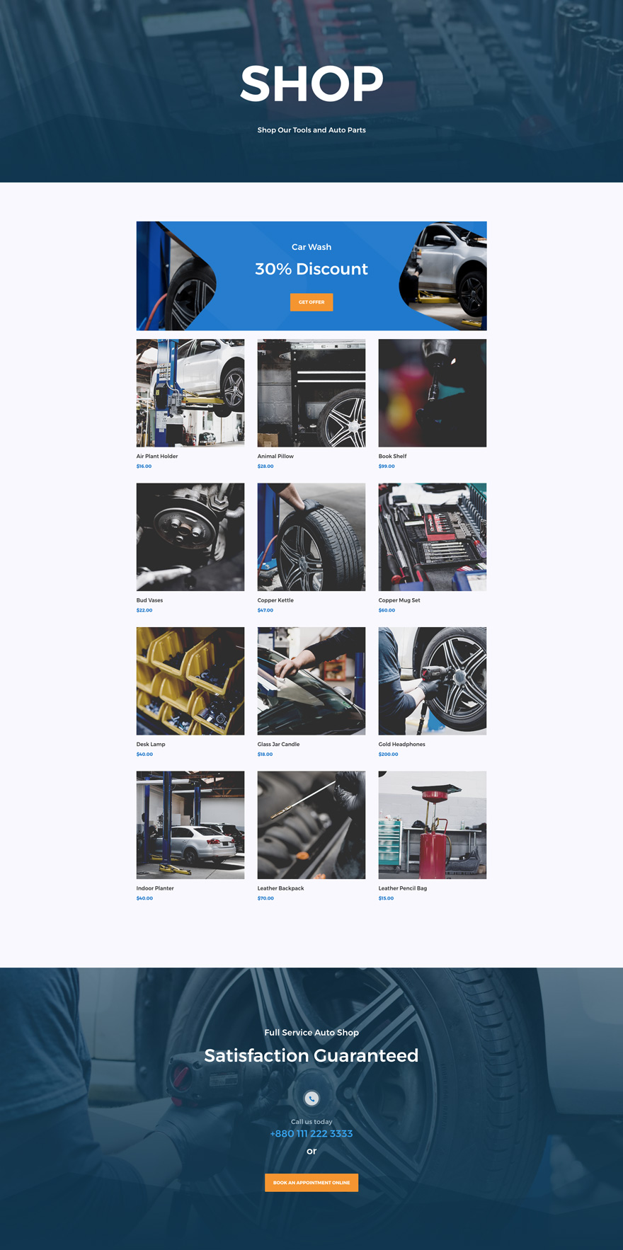 Get A Free Professional Divi Auto Repair Layout Pack Elegant Themes Blog