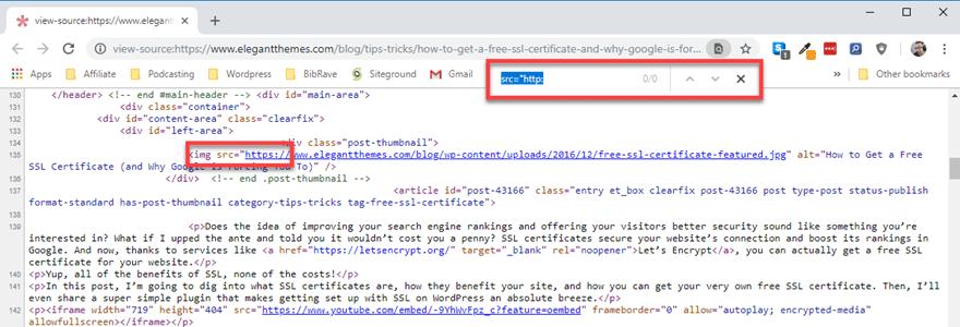 WordPress SSL and HTTPS
