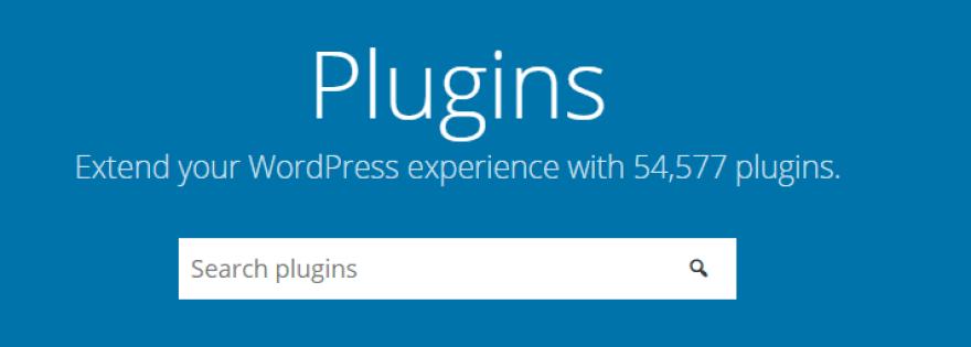 The WordPress plugin database.