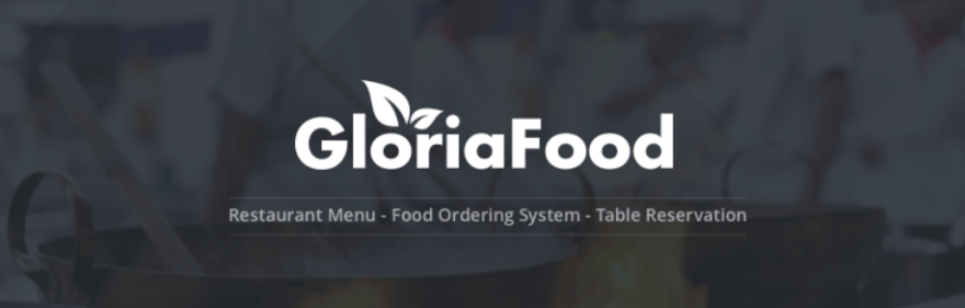 The GloriaFood plugin.