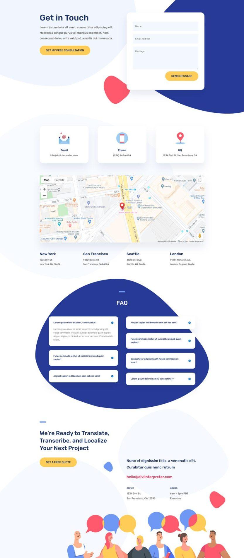 divi interpreter layout pack