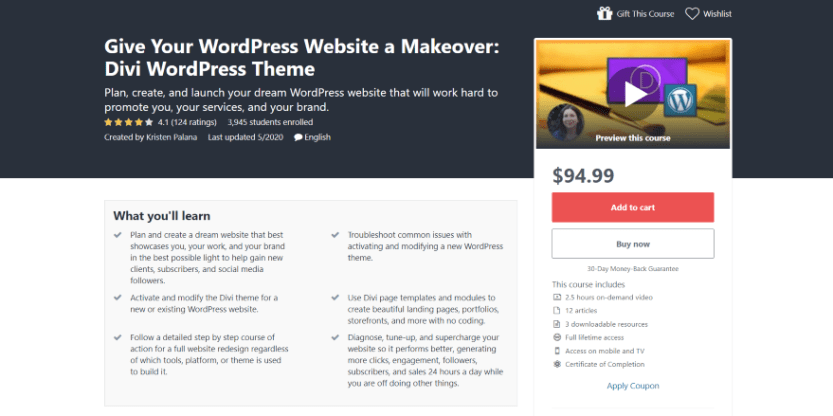 Give Your WordPress Website a Makeover Divi WordPress Theme