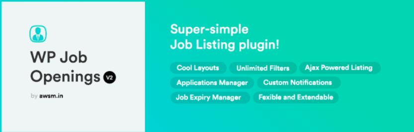 The WP Job Openings plugin.