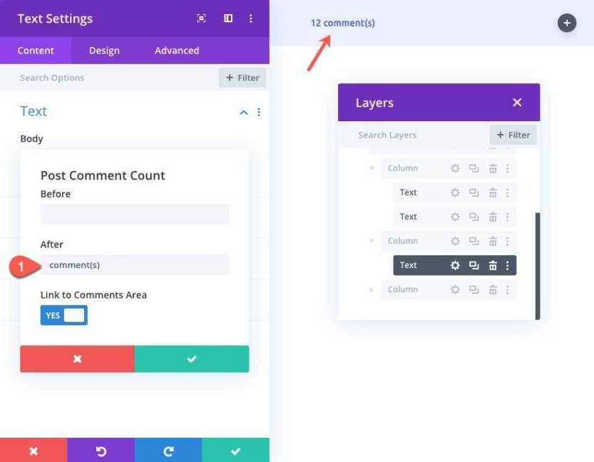 divi dynamic post info bar