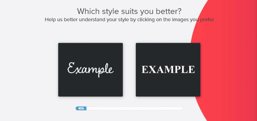 Identifying your favorite logo style.