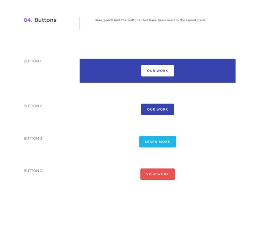 divi web agency global presets style guide