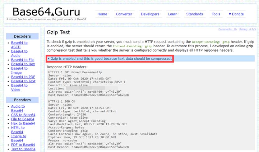 gzip on base64 guru