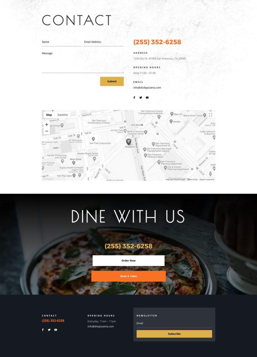 pizzeria website