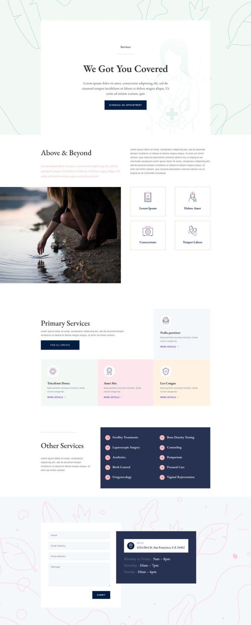 women's health center website