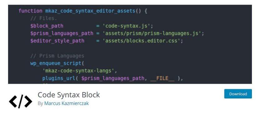 syntax code highlighter
