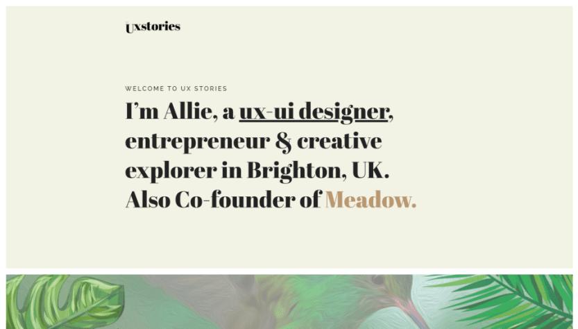 UX Design Stories