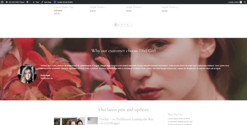 Default Homepage
