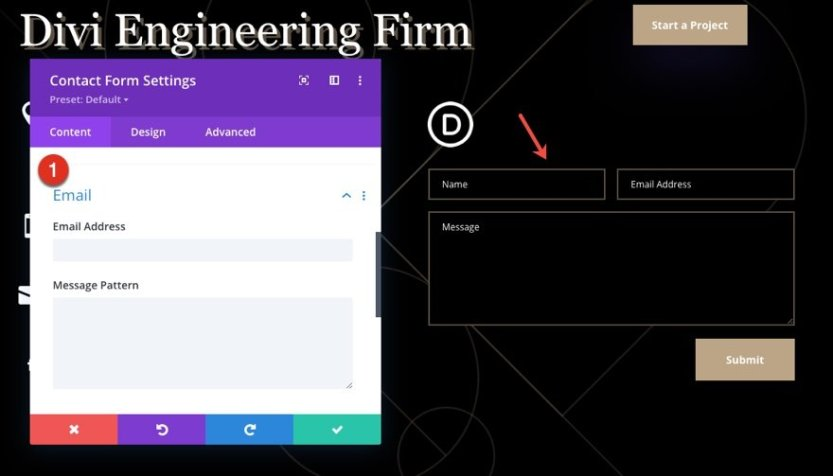 download global header and footer template for the engineering firm layout pack