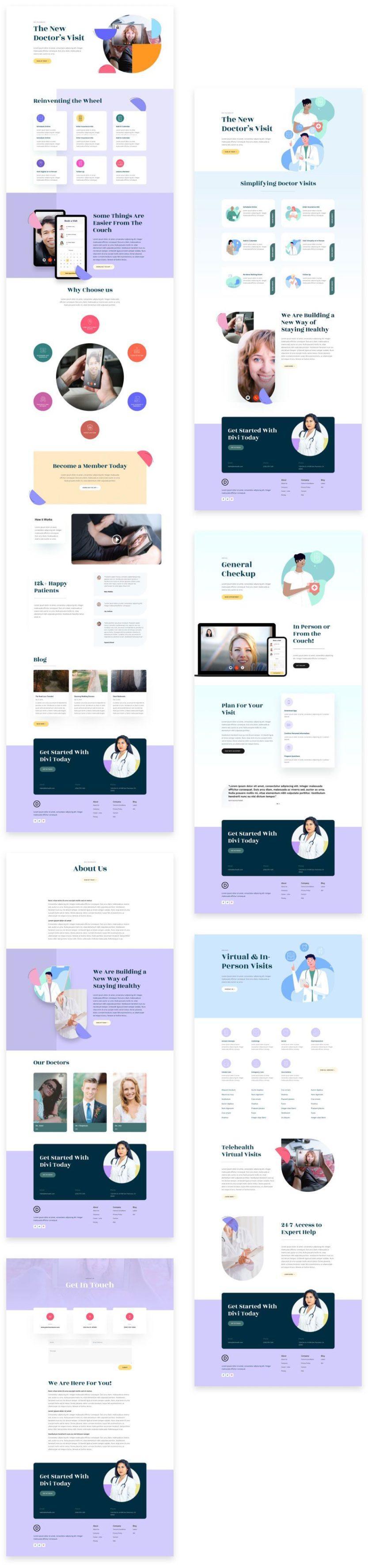 telehealth website