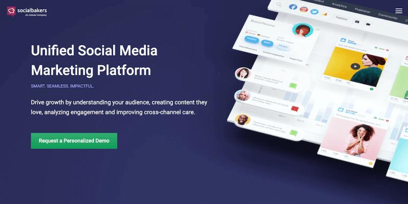 The Socialbakers Facebook marketing tool.