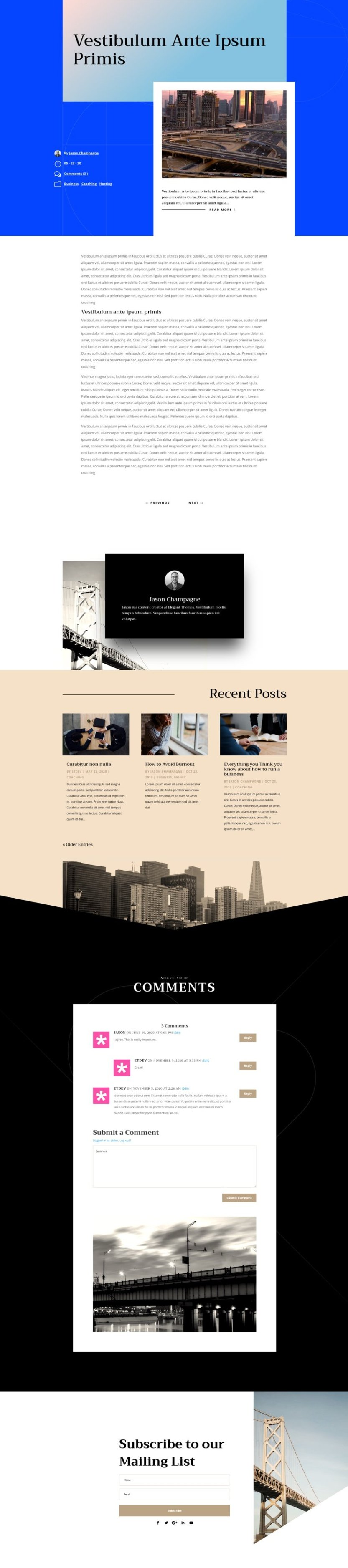 engineering firm blog post template