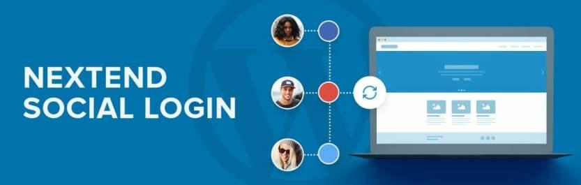 The Nextend Social Login WordPress plugin.