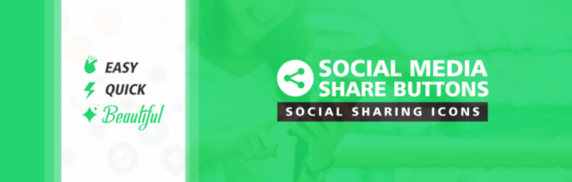 The Social Media Share Buttons plugin