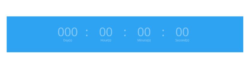 Divi Countdown Timer Module