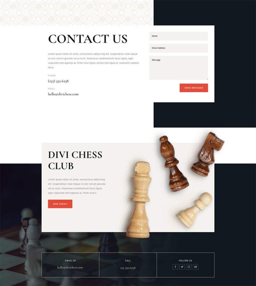 chess club website