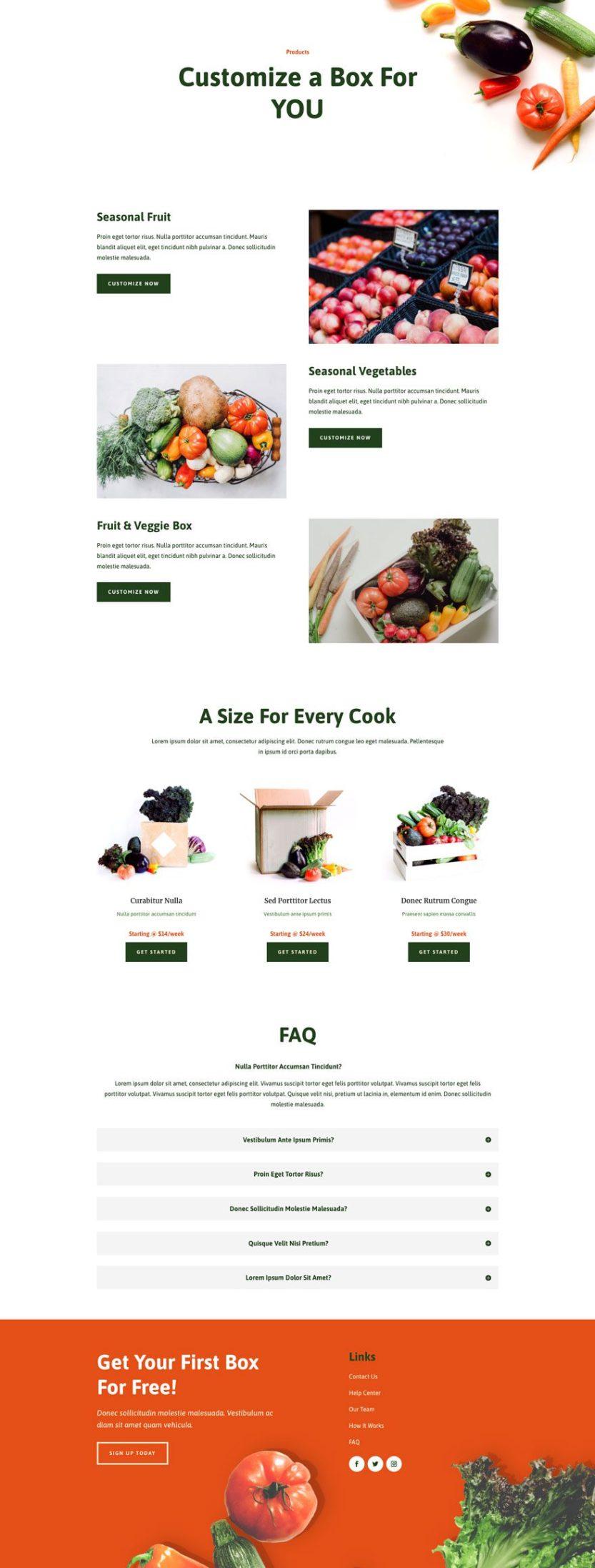 produce box website