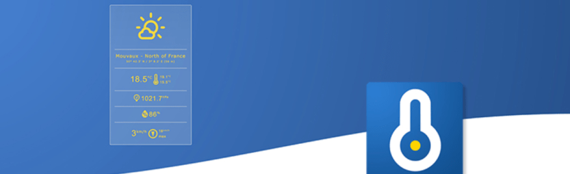 The Weather Station WordPress weather widget.