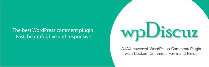 The wpDiscuz plugin.