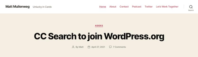 website industry news