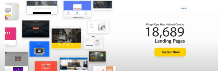 The Landing Page Builder WordPress plugin.