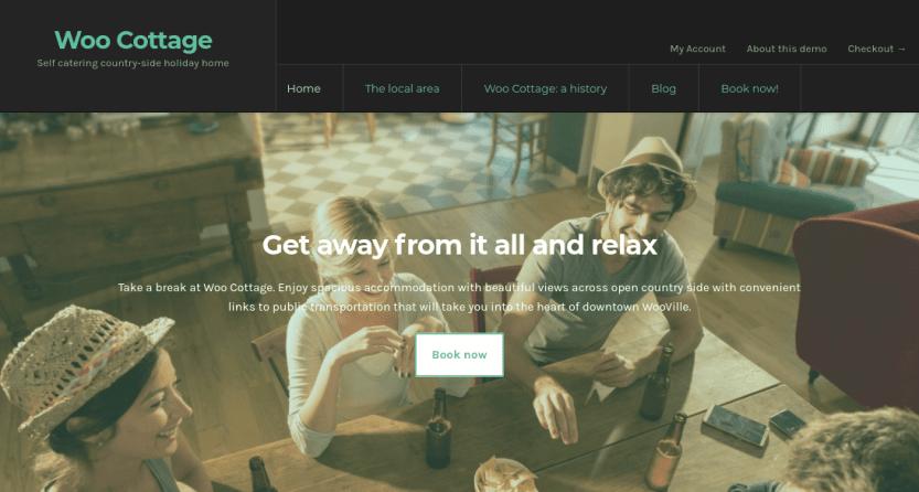 The WooCommerce Bookings plugin demo.