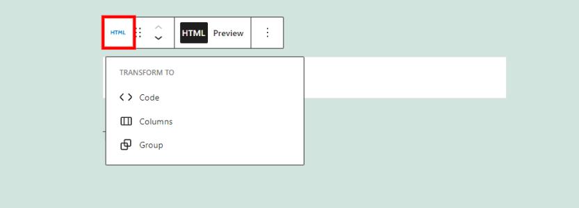 Custom HTML Change Block or Style