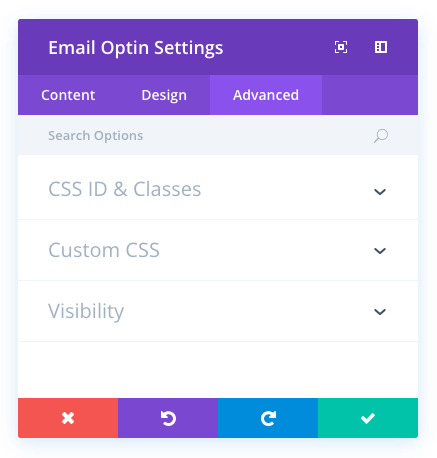 optin email module