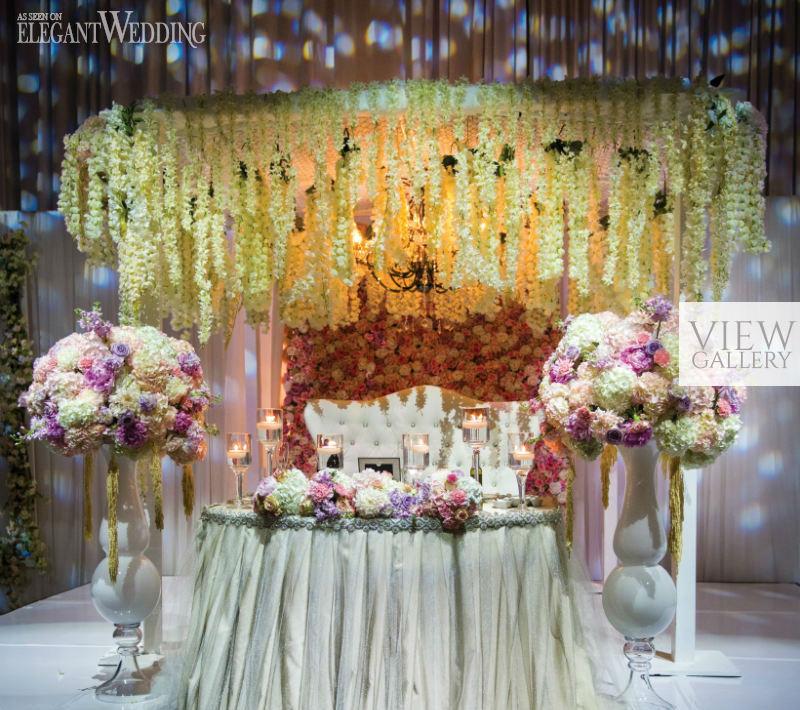 Pink Enchanted Garden Wedding In Toronto ElegantWeddingca