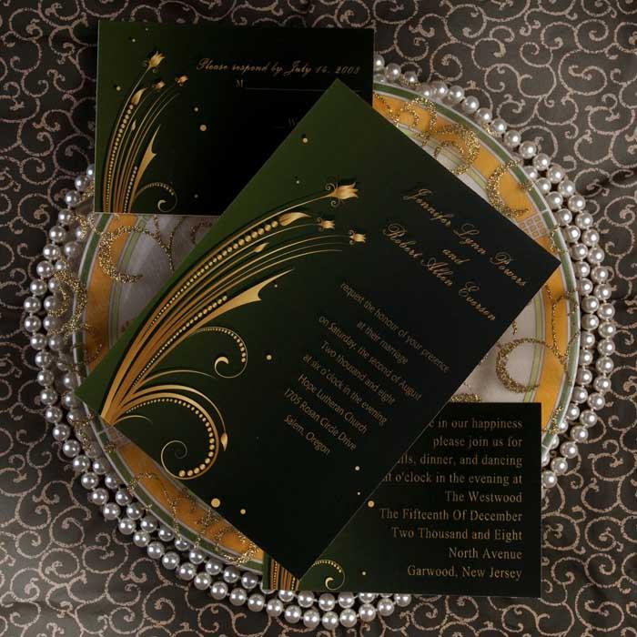Funky Wedding Invites